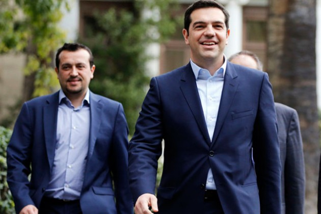 Ципрас сравнил ситуацию в Греции с революцией