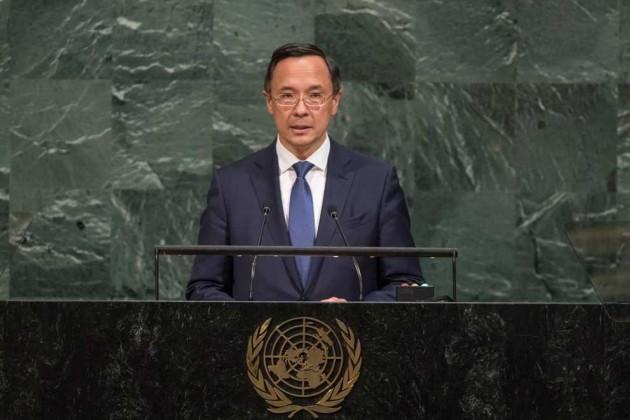 Казахстан поддержал создание Управления ООН поборьбе стерроризмом