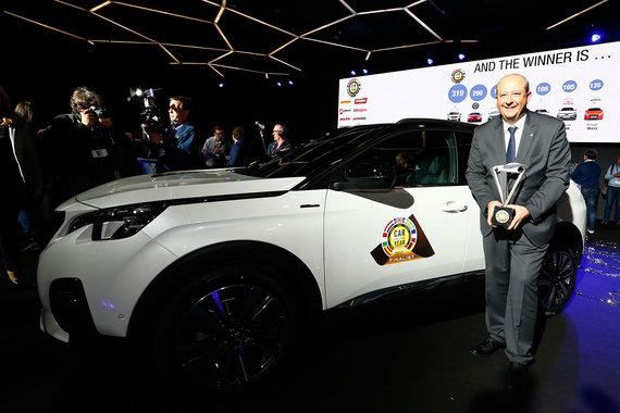 Peugeot 3008стал лучшим европейским автомобилем