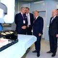 Президент посетил центр роботизированной хирургии