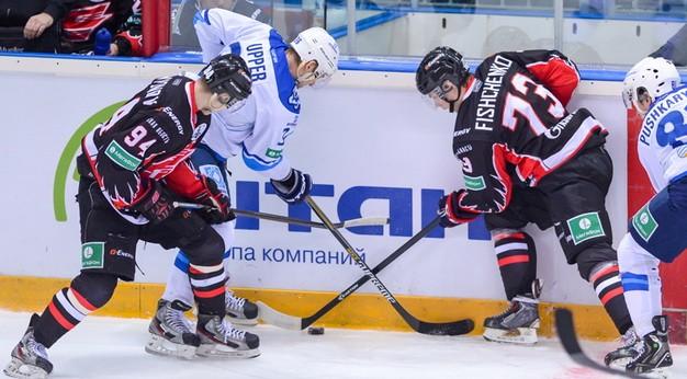 «Барыс» начал с поражения в плей-офф Кубка Гагарина
