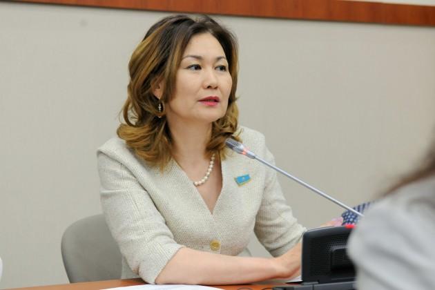 Анар Жаилганова возглавила Агентство по делам госслужбы