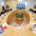Нурсултан Назарбаев встретился слауреатами Нобелевской премии