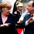 Меркель и Олланд призвали Порошенко начать диалог с ополченцами