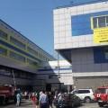 Пожар произошел вторговом центре Алматы