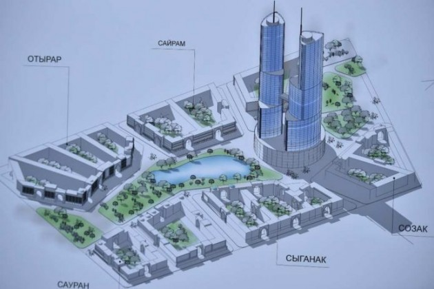 ВШымкенте построят небоскребы