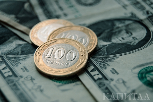 Доллар укрепился более чем на 1 тенге