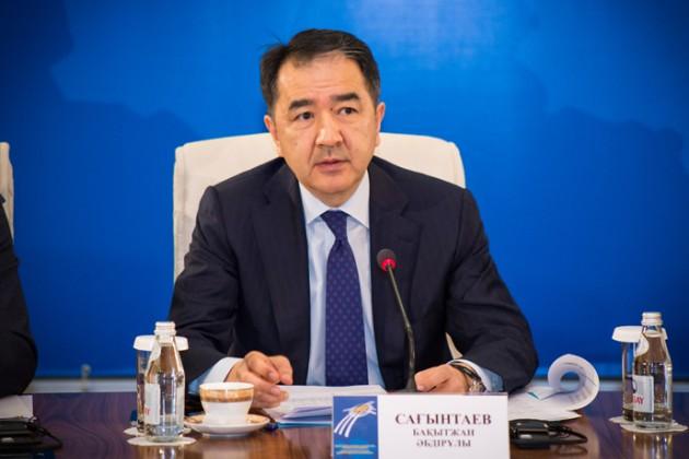 Бакытжан Сагинтаев: Наши предки дали обещание сохранять дружбу