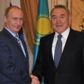 Ситуацию в Украине обсудили президенты Казахстана и России