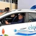 Нурсултан Назарбаев протестировал отечественный электромобиль
