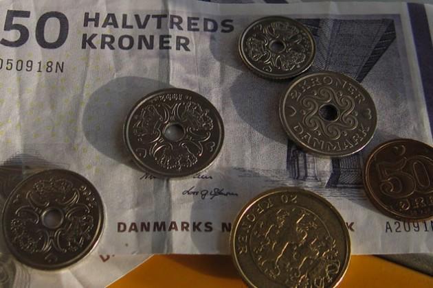 Сильный франк давит на датскую крону