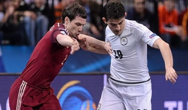 Сборная Казахстана дебютировала на чемпионате Европы по футзалу