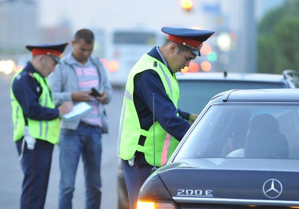 На дорогах Астаны выявлено более 70 тыс. нарушений