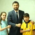 «Футбол для дружбы» поддержали Кенес Ракишев иДосым Сатпаев