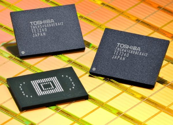 Apple собралась купить долю вподразделении Toshiba повыпуску микрочипов