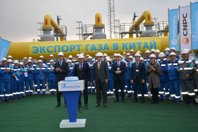 Начат экспорт казахстанского газа вКитай