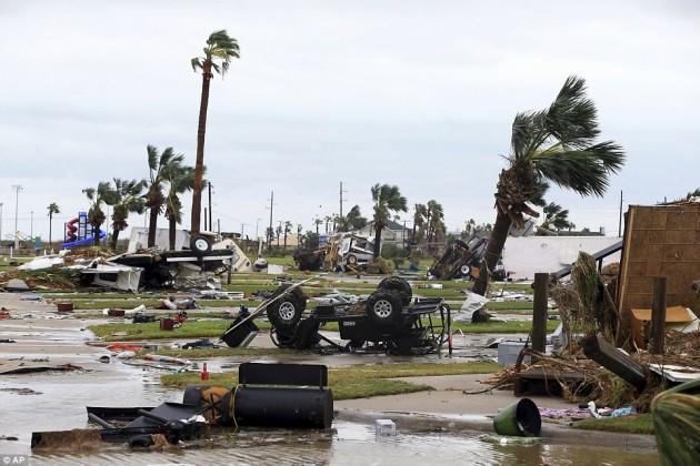 Ураган Харви обойдется Техасу в $100млрд