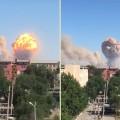 Взрыв произошел в воинской части Арыси