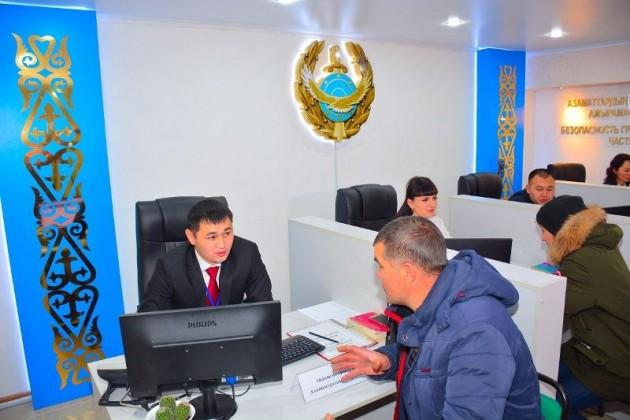 Первый фронт-офис полиции открыли вПетропавловске