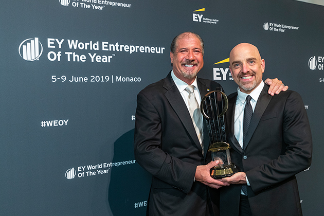 Мировая бизнес-элита определила в Монако лучшего предпринимателя