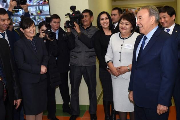 Нурсултан Назарбаев посетил с рабочим визитом Алматы