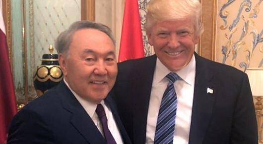 Нурсултан Назарбаев встретится сДональдом Трампом