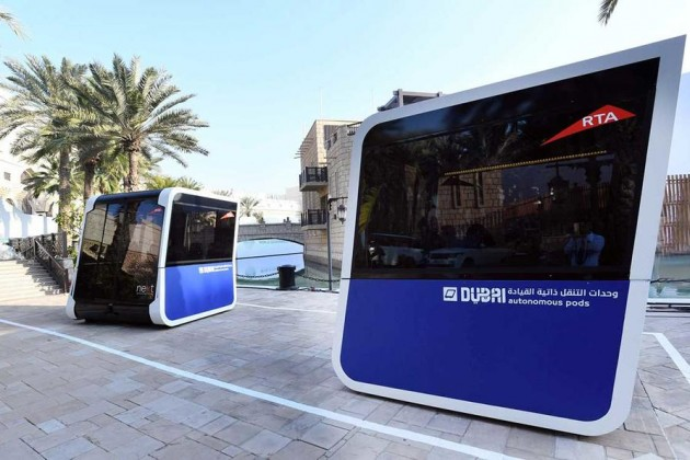 ВДубае готовятся внедрить общественный транспорт будущего