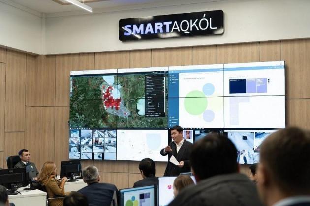 Заместителям акимов всех областей РК показали Smart Aqkol