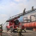 Крупный пожар произошел наТЭЦ вУсть-Каменогорске