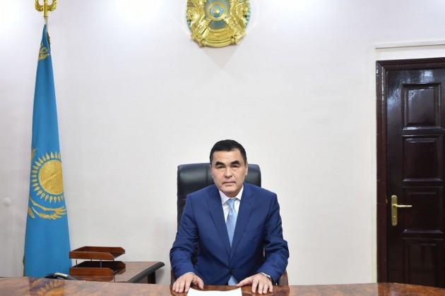 Тажибек Мусаев стал акимом Туркестана