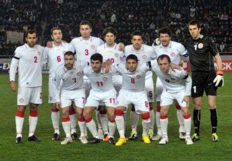 Сборная Казахстана по футболу сыграет с Грузией в Астане