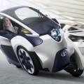 Toyota i-Road Concept: Компактный электро-трицикл