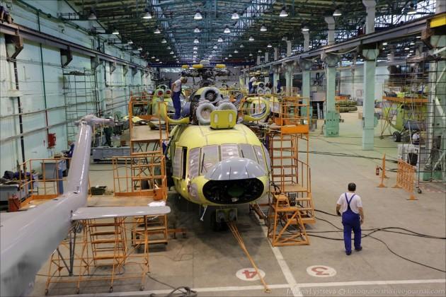 Вертолеты Ми-8начнут собирать вКазахстане