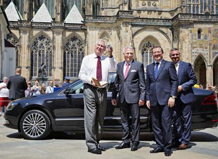 Президент Чехии обзавелся новым лимузином