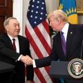 Очем говорили Нурсултан Назарбаев иДональд Трамп