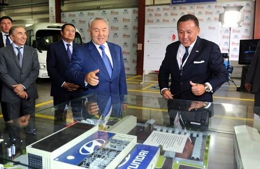Автобусы Hyundai County начнут собирать в Казахстане