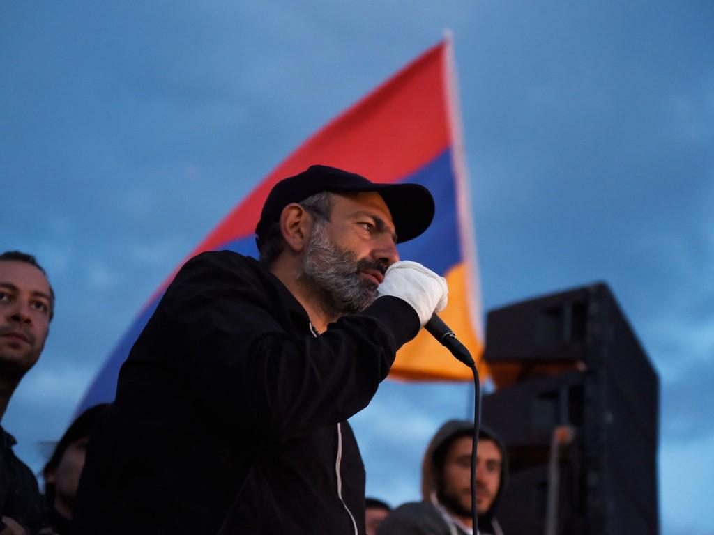 Никол Пашинян оказался единственным кандидатом напост премьера Армении