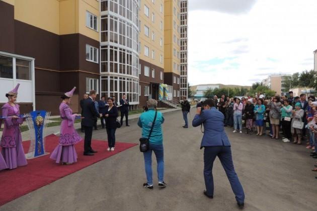 ВКокшетау 90семей получили квартиры