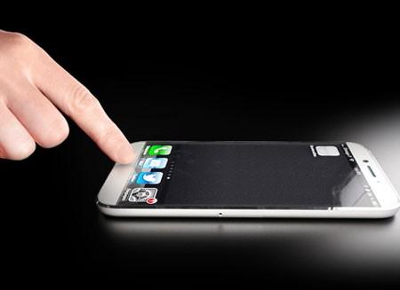 iPhone сможет считывать отпечатки пальцев