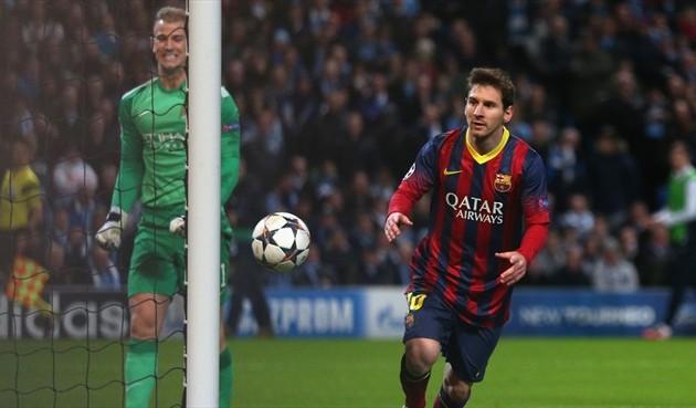 «Барселона» и ПСЖ победили в первых матчах 1/8 финала Лиги чемпионов
