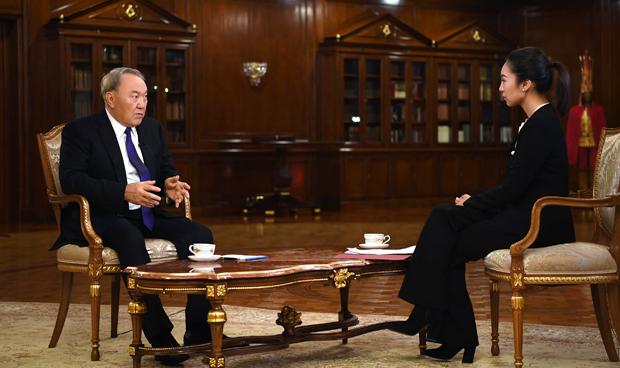 Нурсултан Назарбаев рассказал осотрудничестве Казахстана иКитая