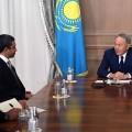 ГлаваРК отметил важность укрепления двусторонних контактов сОАЭ