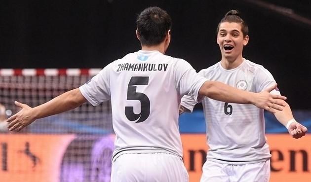 Сборная Казахстана по футзалу завоевала «бронзу» чемпионата Европы