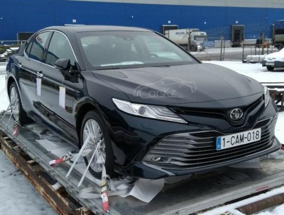 Новая Toyota Camry 70уже вАлматы