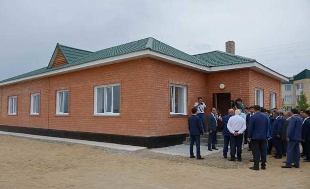 Вселах Павлодарской области строится жилье для бюджетников