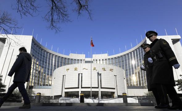 ЦБКитая влил врынок более 1трлн юаней