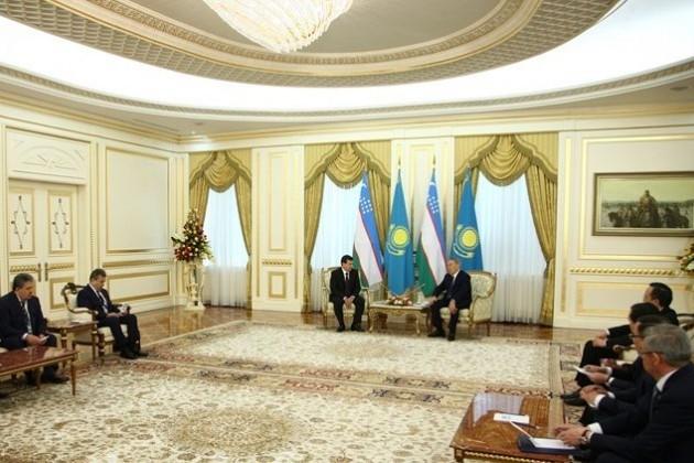 Нурсултан Назарбаев: Основа наших взаимоотношений заложена мной ипервым президентом Узбекистана
