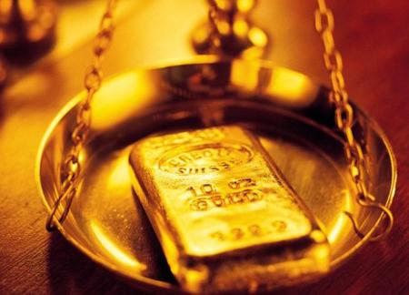 Золото снизилось до минимальных значений месяца